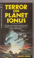 Image for Terror On Planet Ionus.