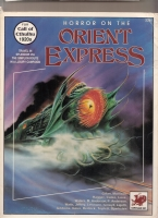 Image for Horror On The Orient Express: For Call of Cthulhu 1920s.