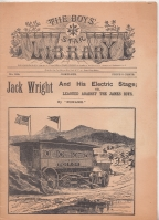 Image for Jack Wright And His Electric Stage; or, Leagued Against The James Boys.