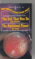 Image for The Evil That Men Do/The Purloined Planet.